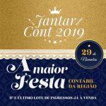Jantar CONT 2019 – 3º lote já à venda