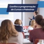 Programação de Cursos e Palestras