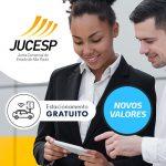 Novos valores Processos JUCESP