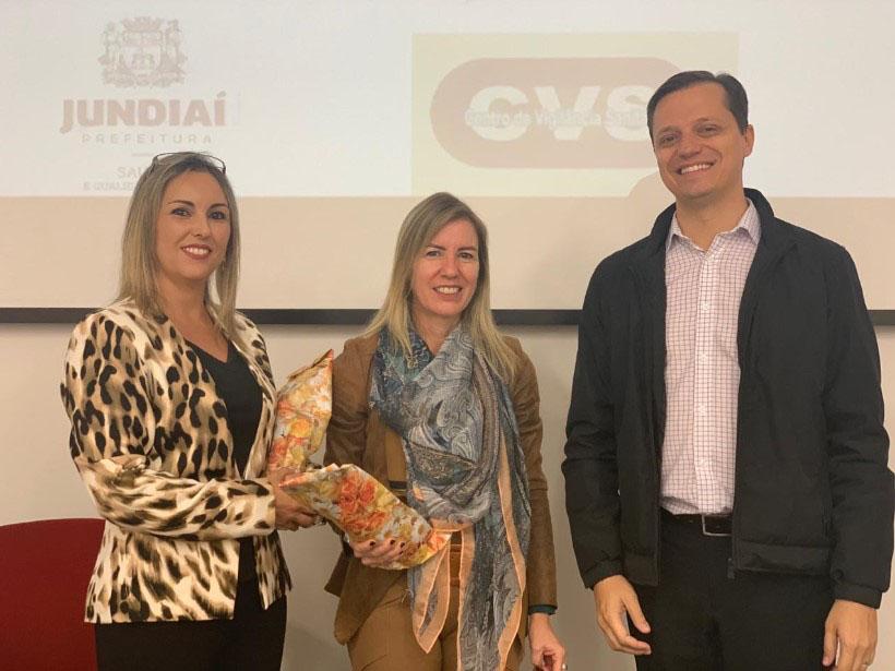 Bate papo com Adriana Swain Muller, gerente de Divisão de Vigilância Sanitária da Cidade de Jundiaí