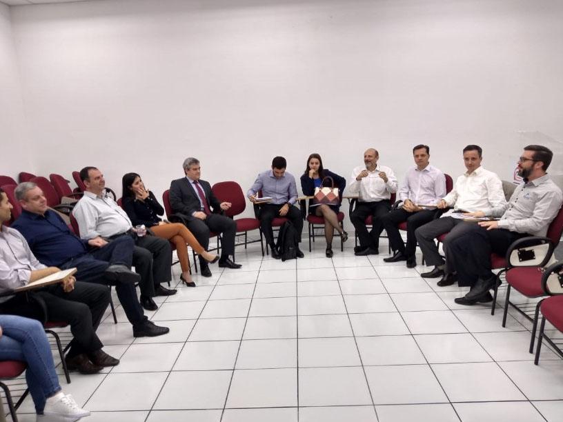 Reunião realizada no dia 20/09/2018